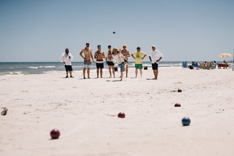 Bocce Ball Beach