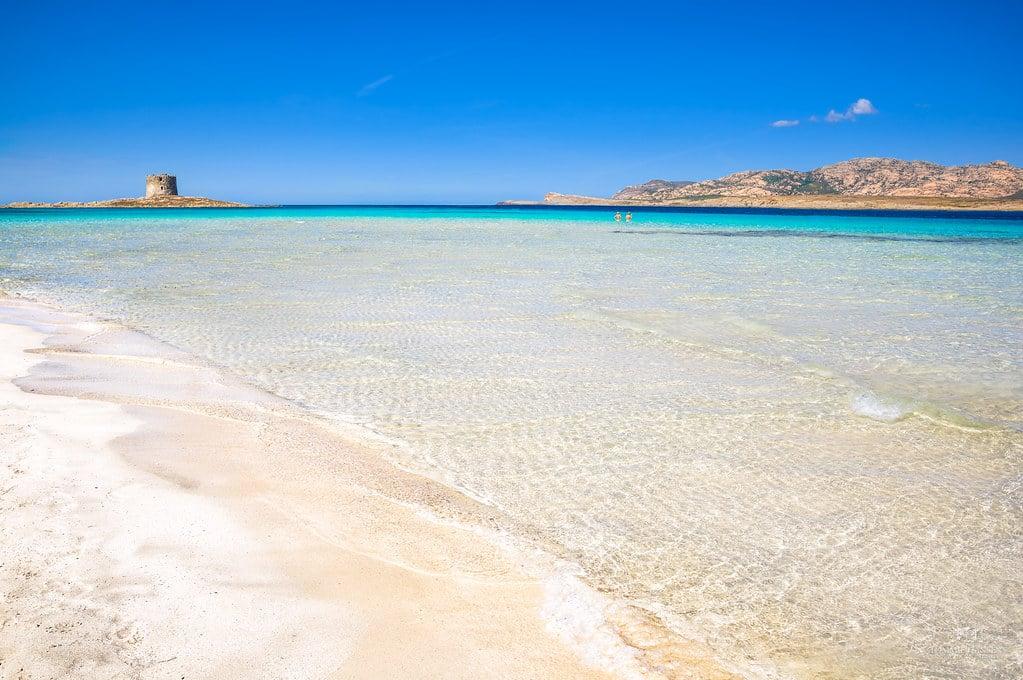 Sardinia's La Pelosa beach